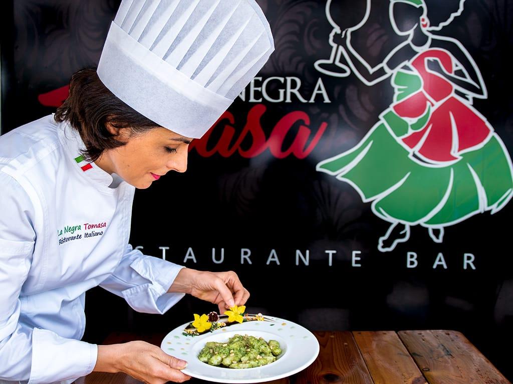 La Negra Tomasa Italian restaurant in Panama City