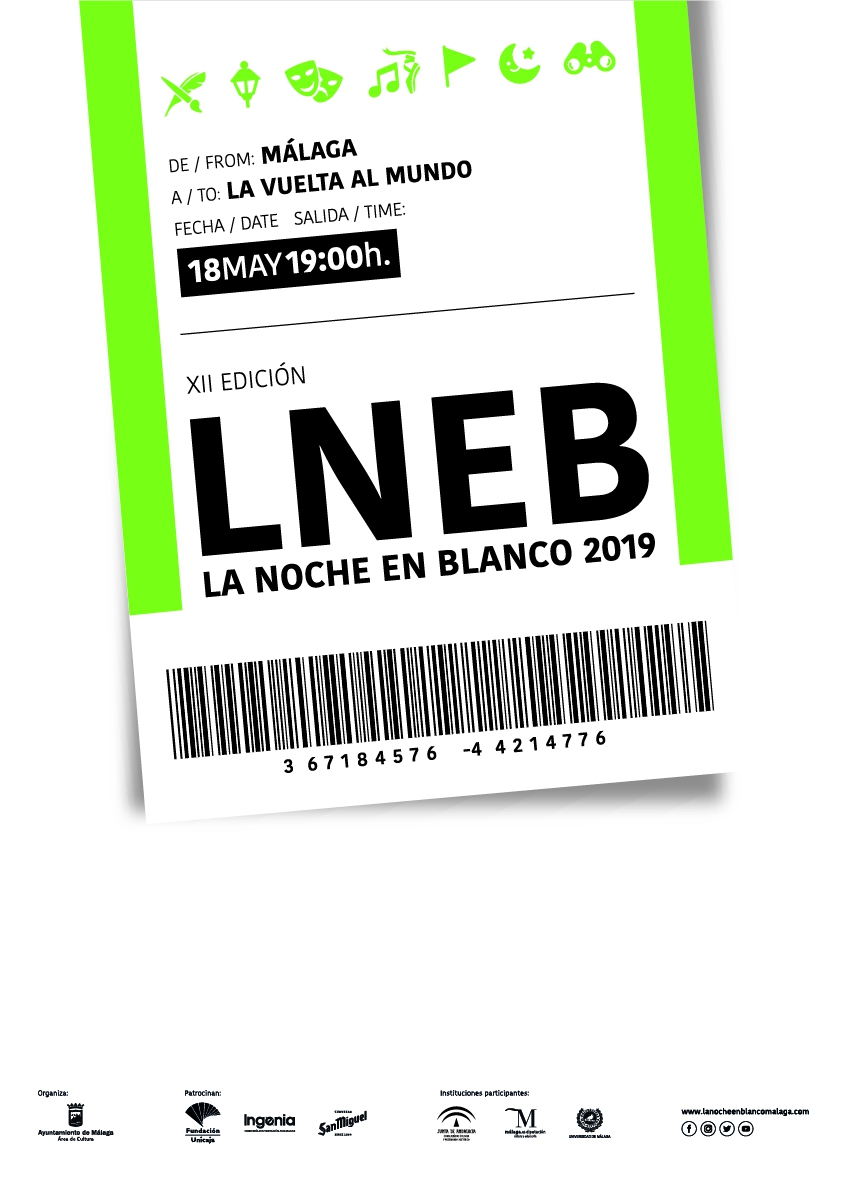 La Noche en Blanco - Malaga's White Night