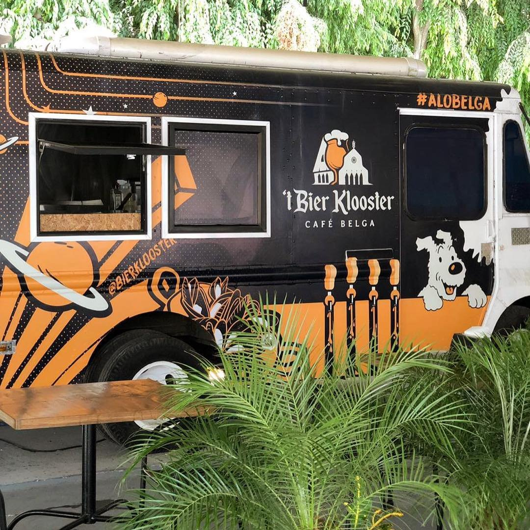 LaNave Belga  tBier Klooster a Food Truck the new gastronomic offer in Panama City