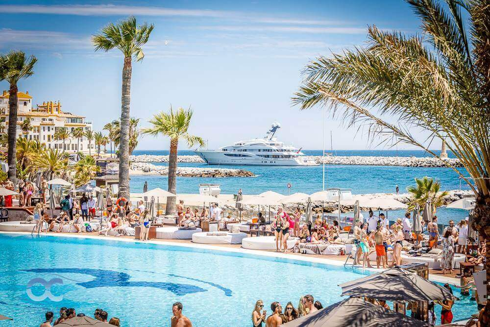 Marbella Beach Clubs Home Delivery Service