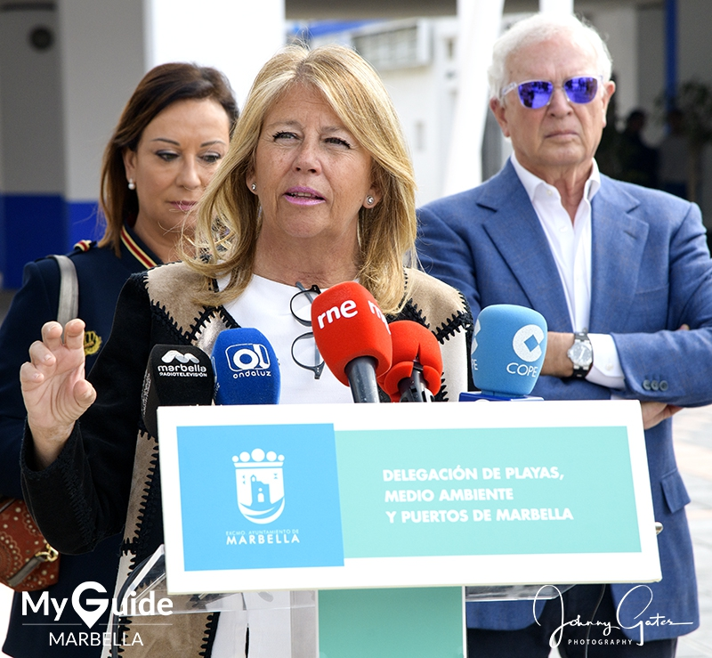 Marbella Mayoress Delivers Good News For Marbella Port
