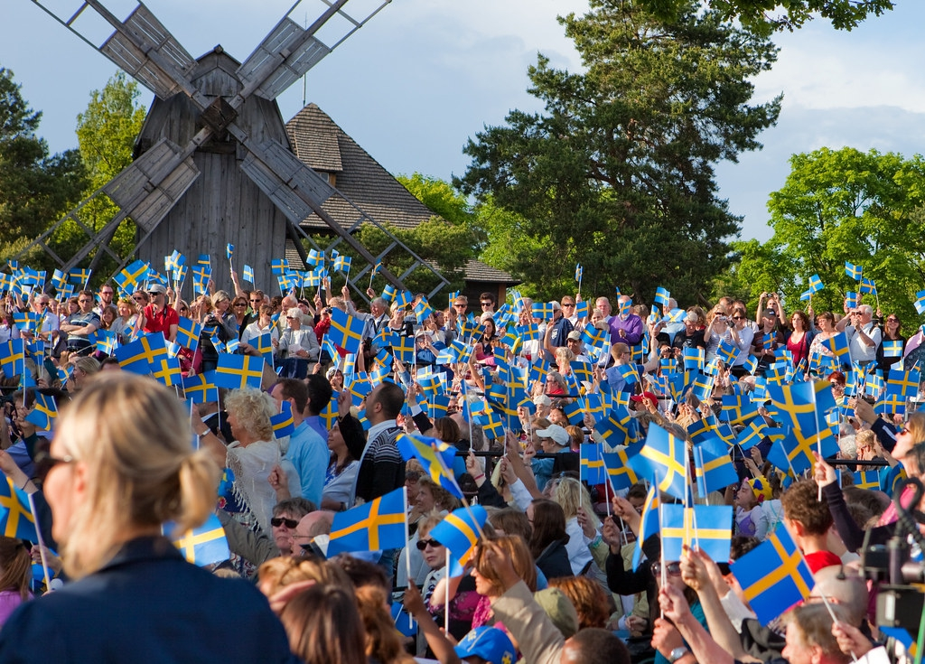National Day of Sweden 6th of June