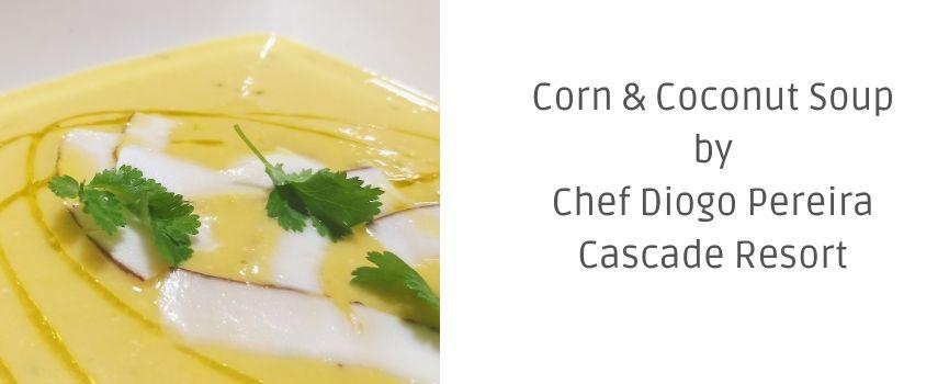 Recipe: Corn and Coconut Soup