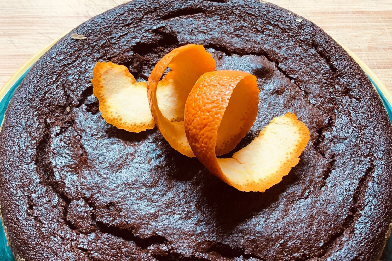 Recipe: Orange and Carob Cake
