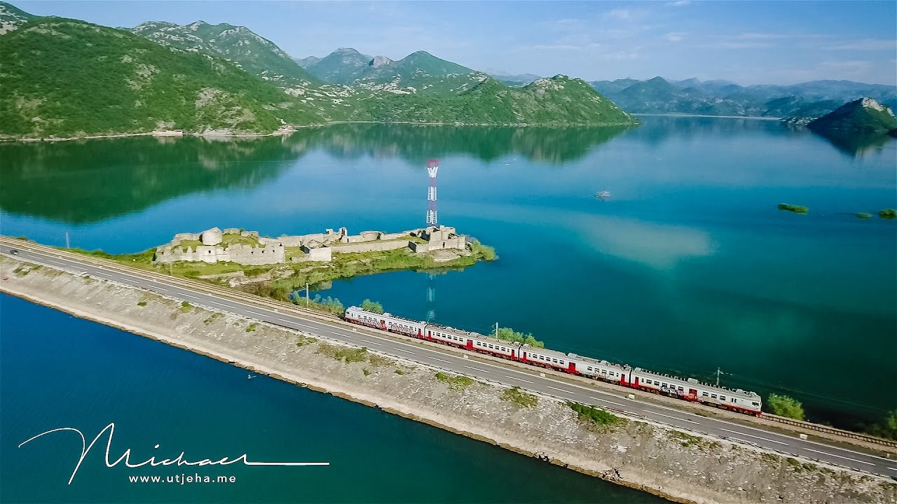 Scenery Train Trip in Balkans - Bar, Montenegro to Belgrade, Serbia