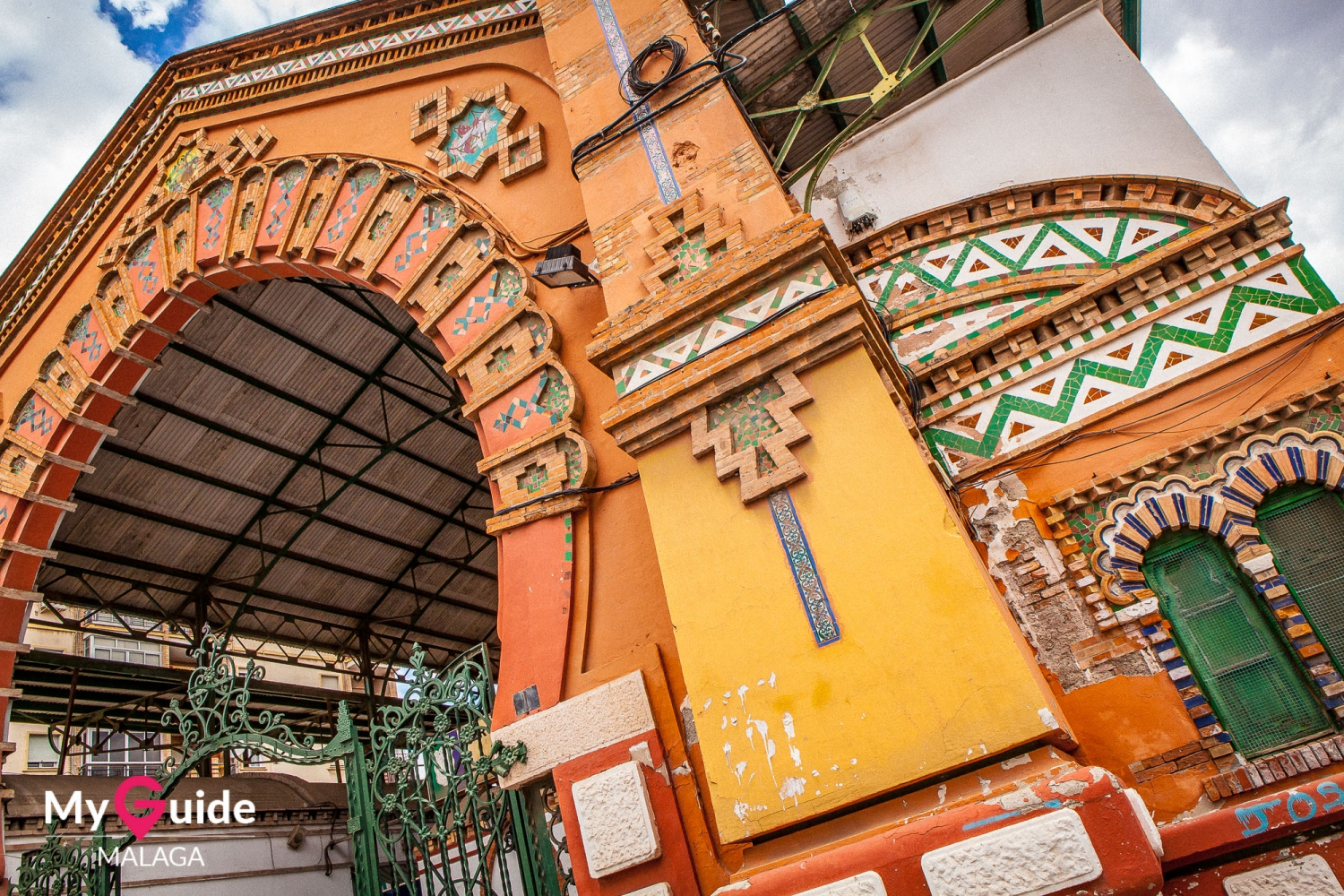 Secret architectural gems of Málaga - the Salamanca market