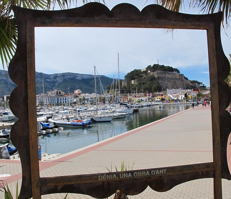 Seeing Denia attractions as a work of art
