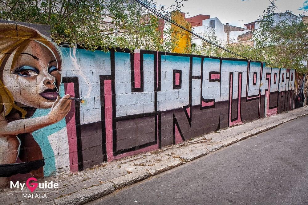 Street Art in a Malaga stylee
