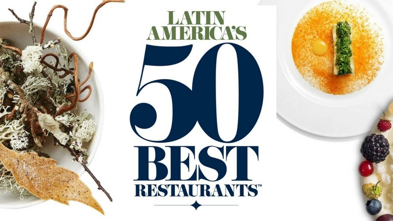 The Latin America's 50 Best Restaurants 2018 have been announced on October 30 in Bogota