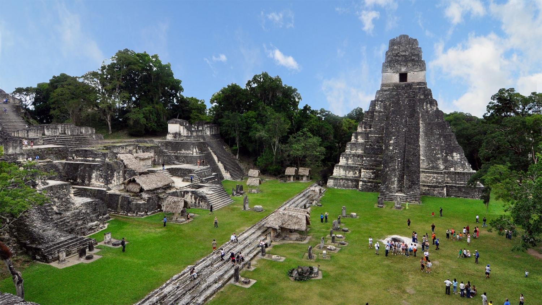 The Mayan ruins of Lamanai, in Belize