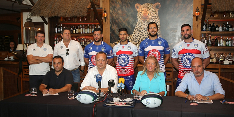 The mayor highlights the City Council's commitment to the Marbella Rugby Club Trocadero.