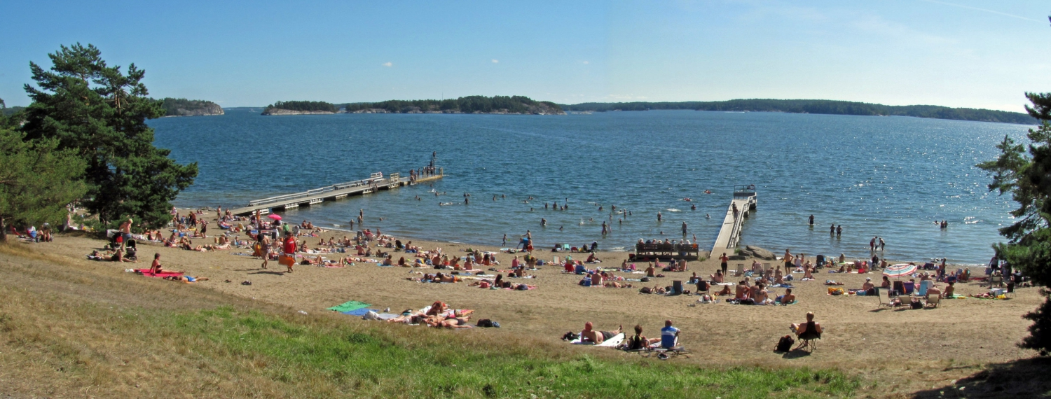 Top 10 best places to go swimming in Stockholm