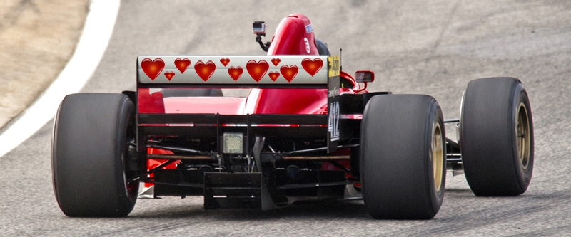 Valentines Day Thoughts From The Pit Lane