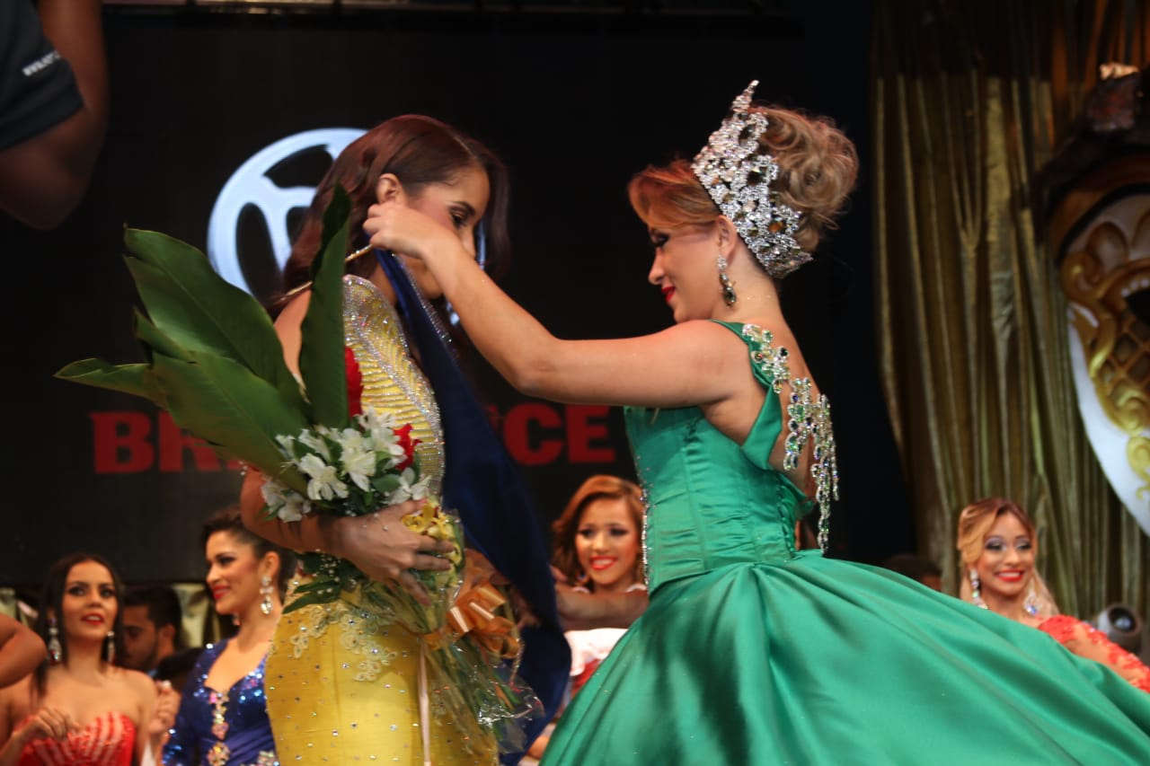 Valerie Falcon was elected Queen of the Carnival Panama: a country celebrating 2019`