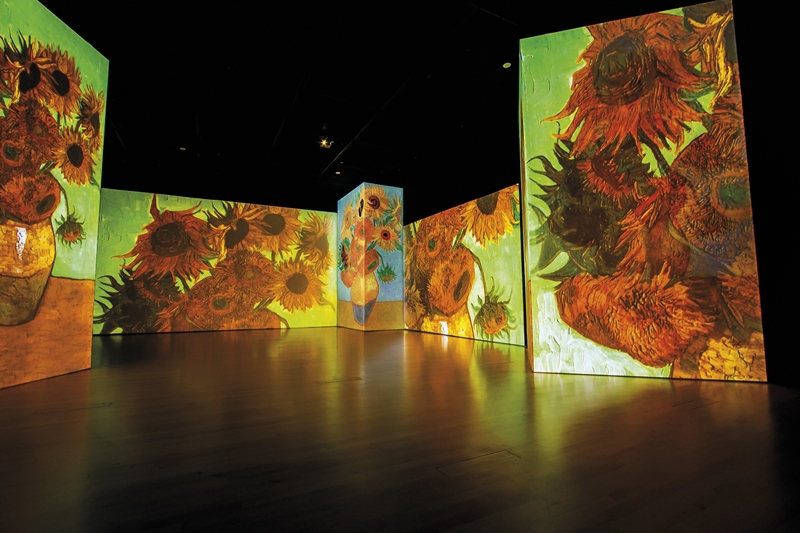 Van Gogh Alive Art Exhibition in Alicante