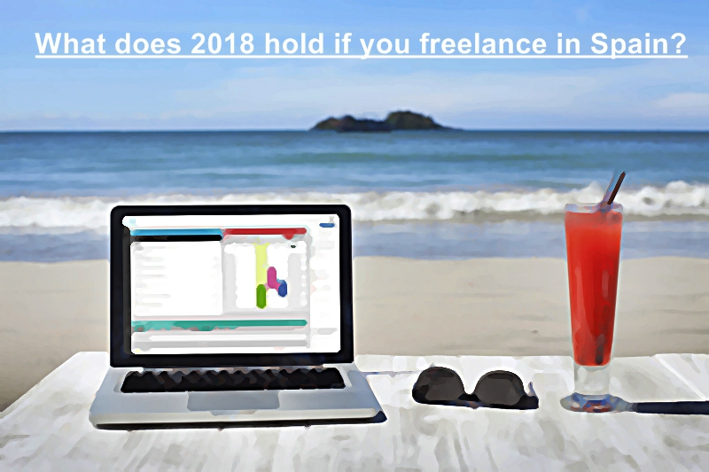 What does 2018 hold if you freelance in Spain?