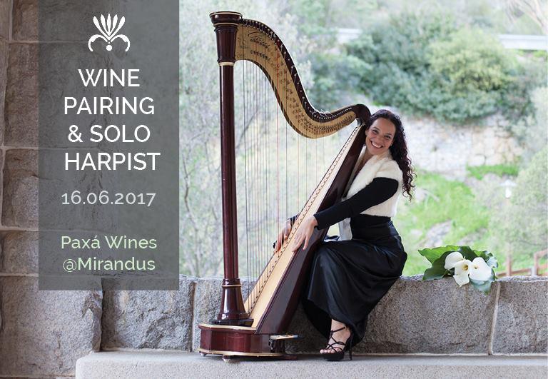 Wine Pairing and Harp Recital at Mirandus Restaurant