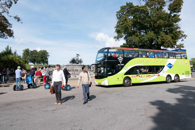 48 Hour Hop On/Hop Off Copenhagen Bus Tour