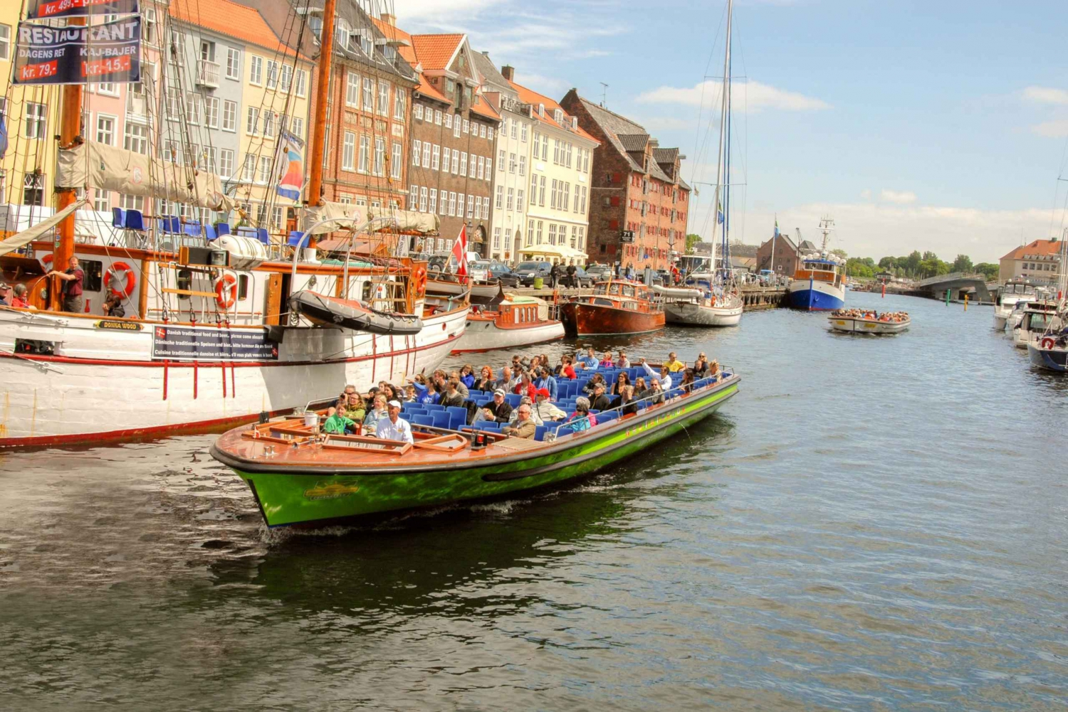 Copenhagen Bus and Boat Hop-On, Hop-Off 48-Hour Pass
