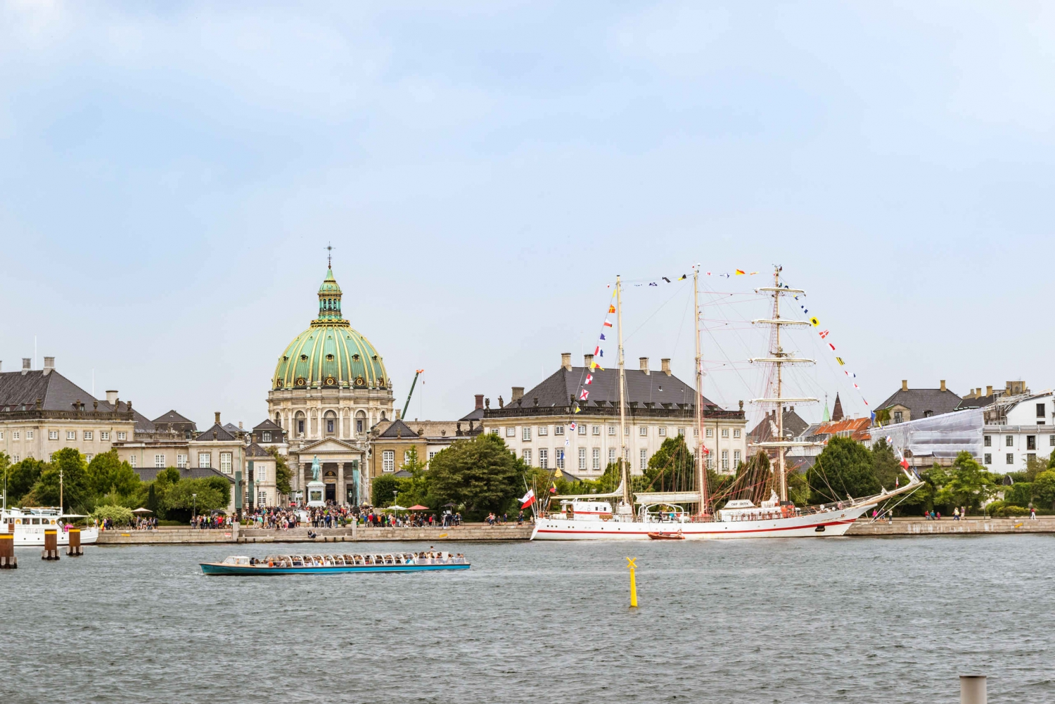 Copenhagen Panorama Sightseeing and Canal Tour