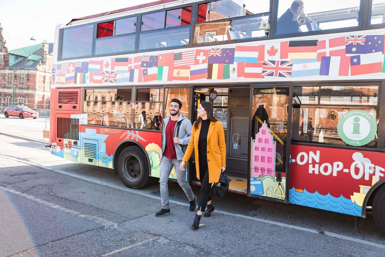 Copenhagen Red Hop-on Hop-off Bus and Boat