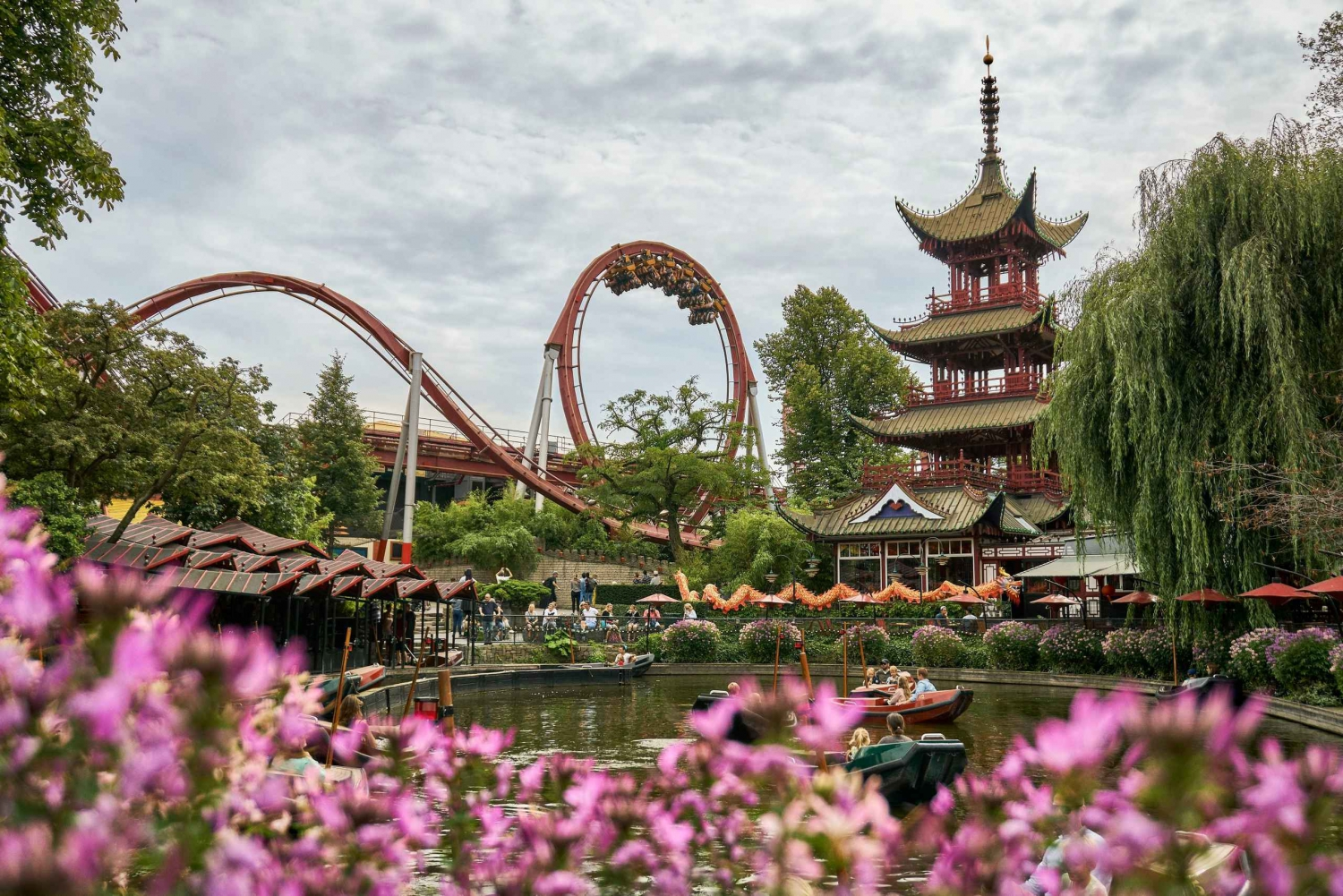 Copenhagen Tivoli Gardens 1-Day Unlimited Rides Ticket