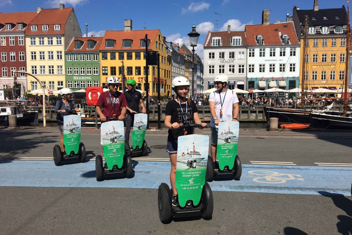 Guided Segway Tour in German
