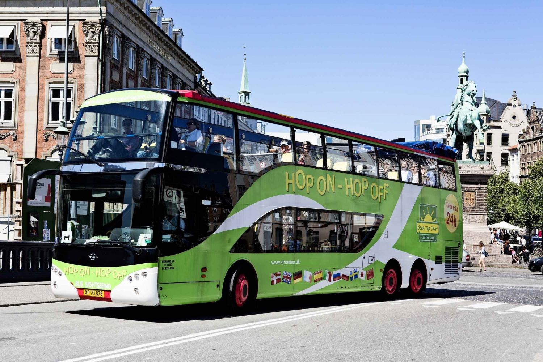 Hop On/Hop Off Copenhagen Bus Tour
