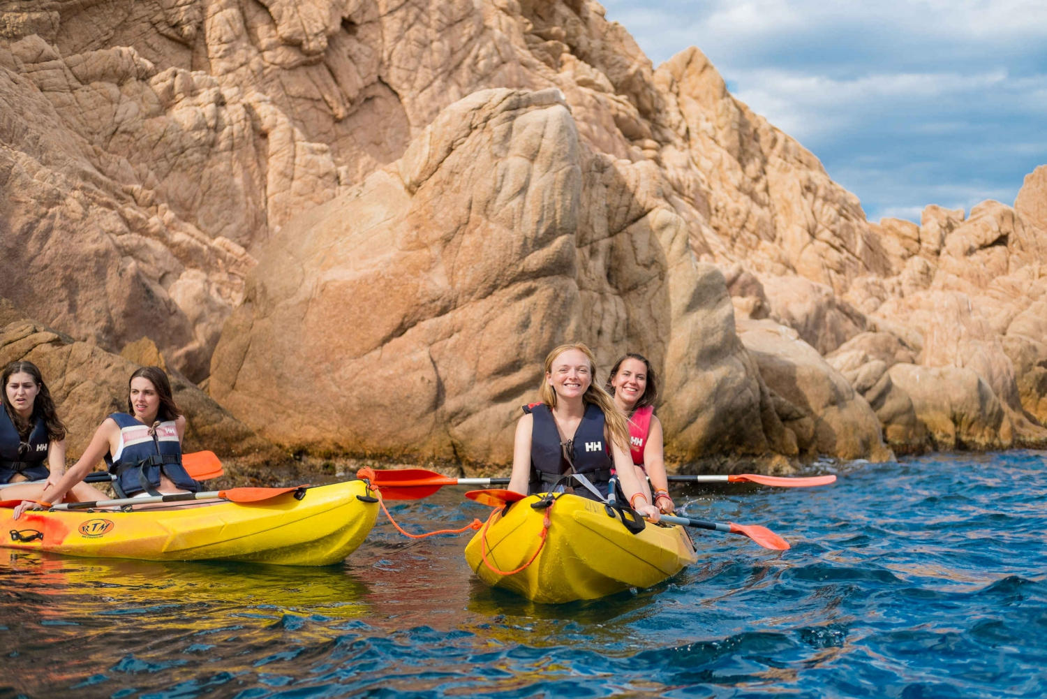 From Barcelona: 6-Hour Costa Brava Kayak and Snorkel Tour