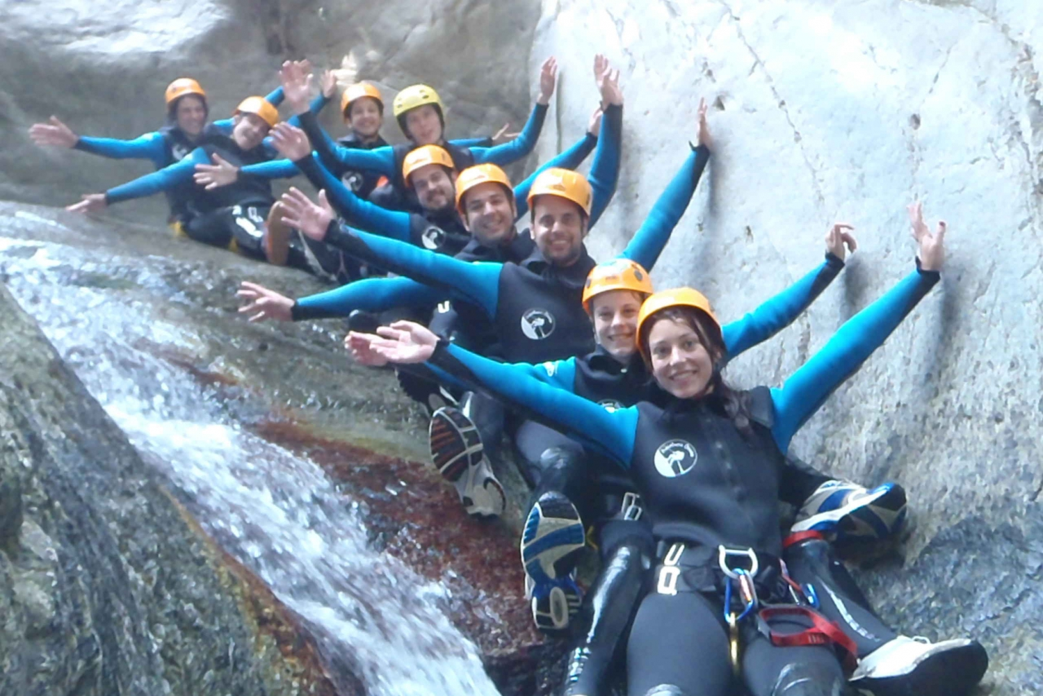 From Girona: 8-Hour Beginner Level Canyoneering Trip