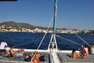 From Roses: Catamaran Cruise Cap Norfeu - Cadaqués
