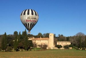 La Garrotxa Volcanoes Half-Day Hot Air Balloon Flight