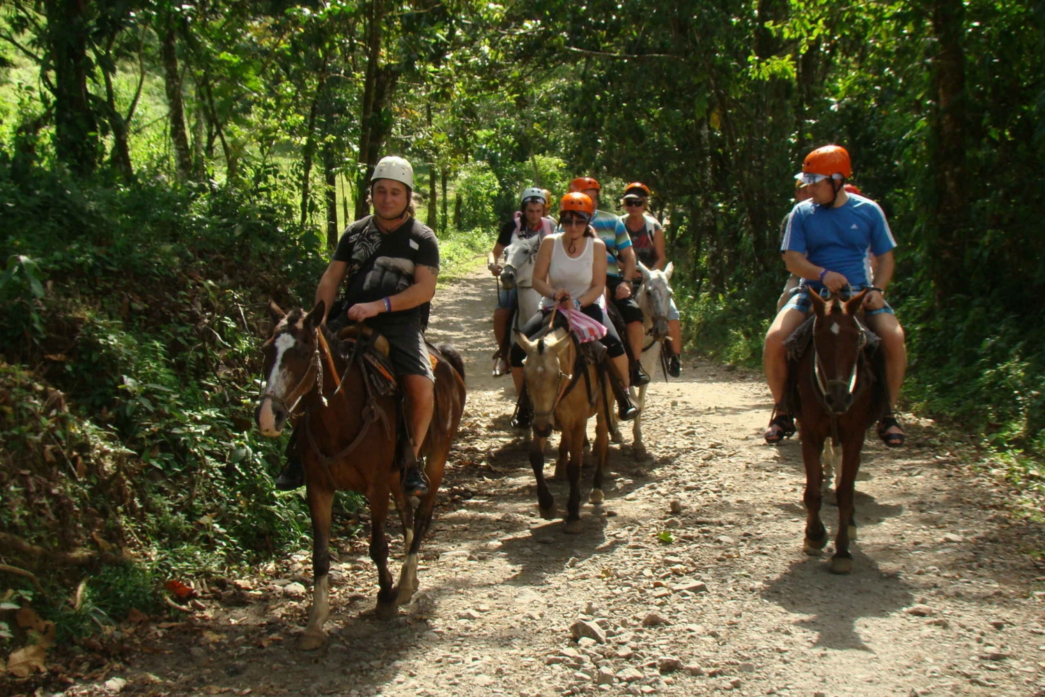Arenal La Fortuna: Canopy and Horseback Riding