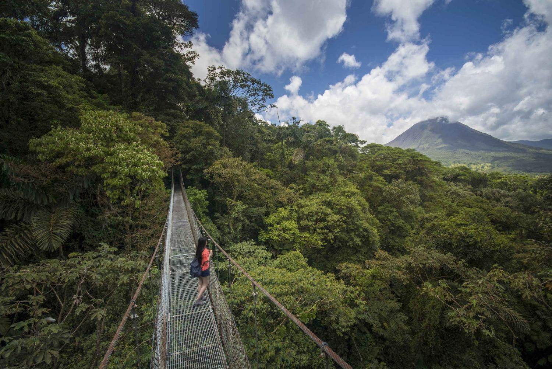 Arenal National Park: Hanging Bridges Tour