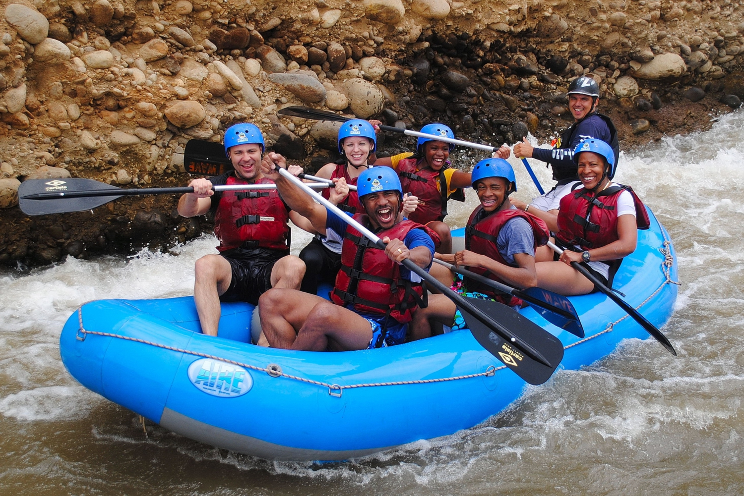 Arenal Rafting En Route from San Jose and La Fortuna