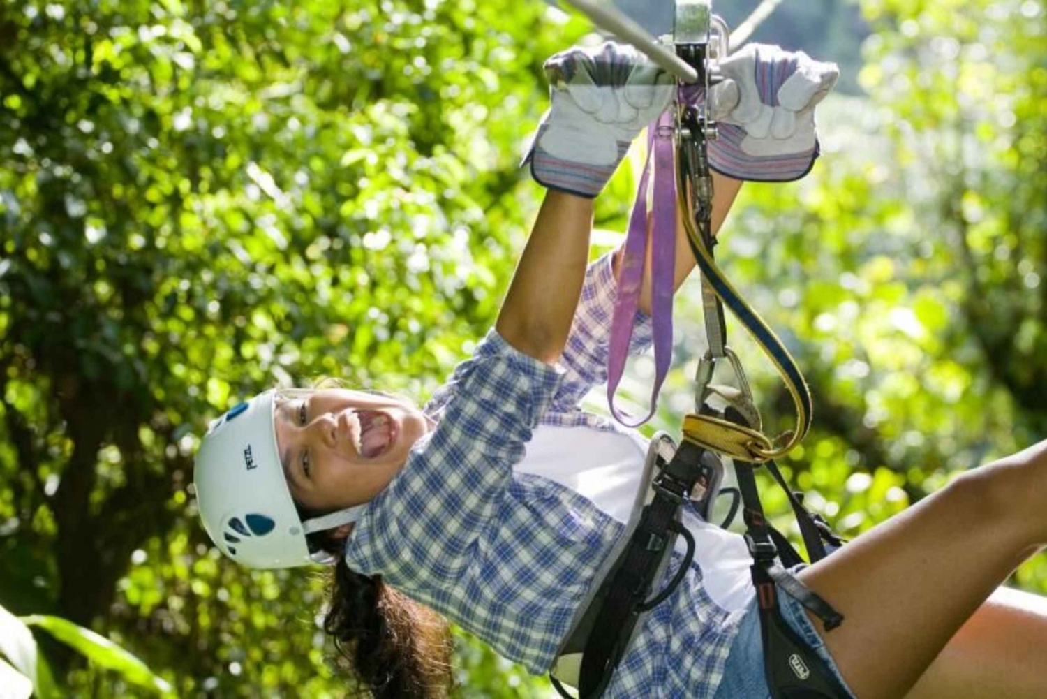 Arenal Volcano Raft and Canopy Tour Adventure