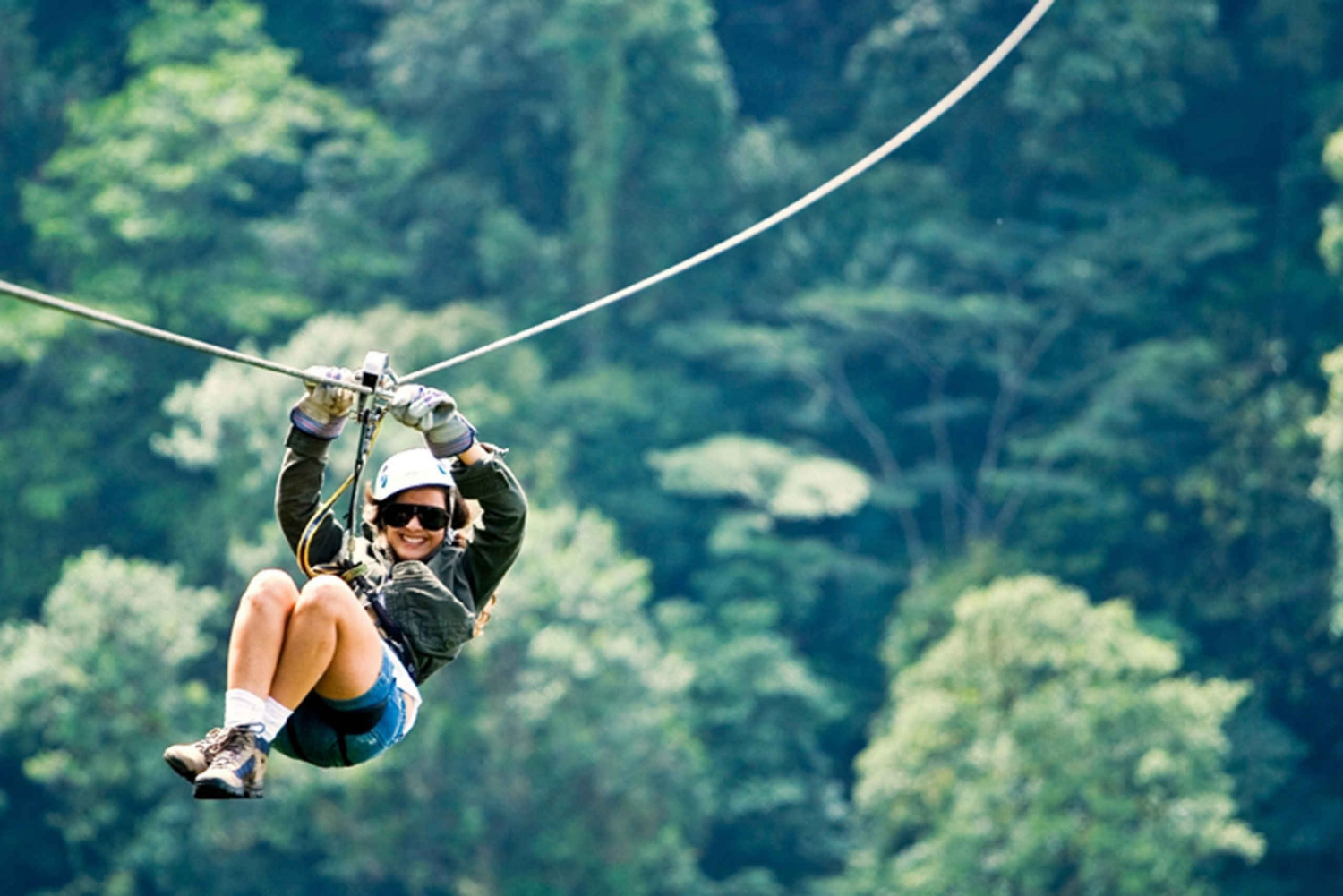 Arenal Volcano Zip-Line and Hot Springs from San Jose