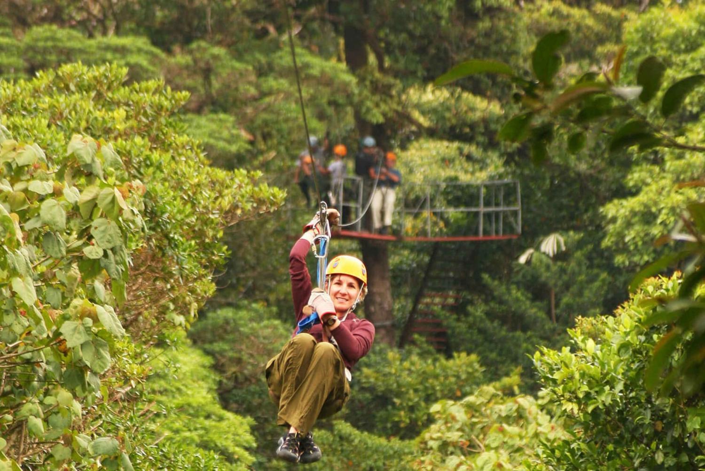 Caldera: Hanging Bridges and Canopy Tour