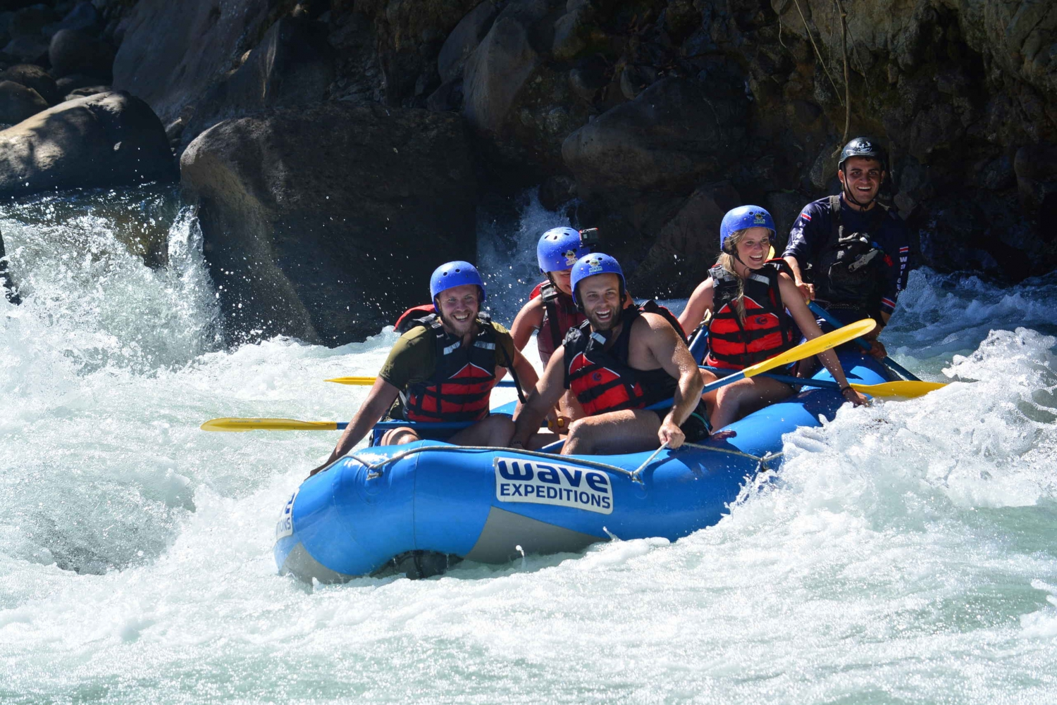 Costa Rica Whitewater Rafting Class 3/4 from La Fortuna