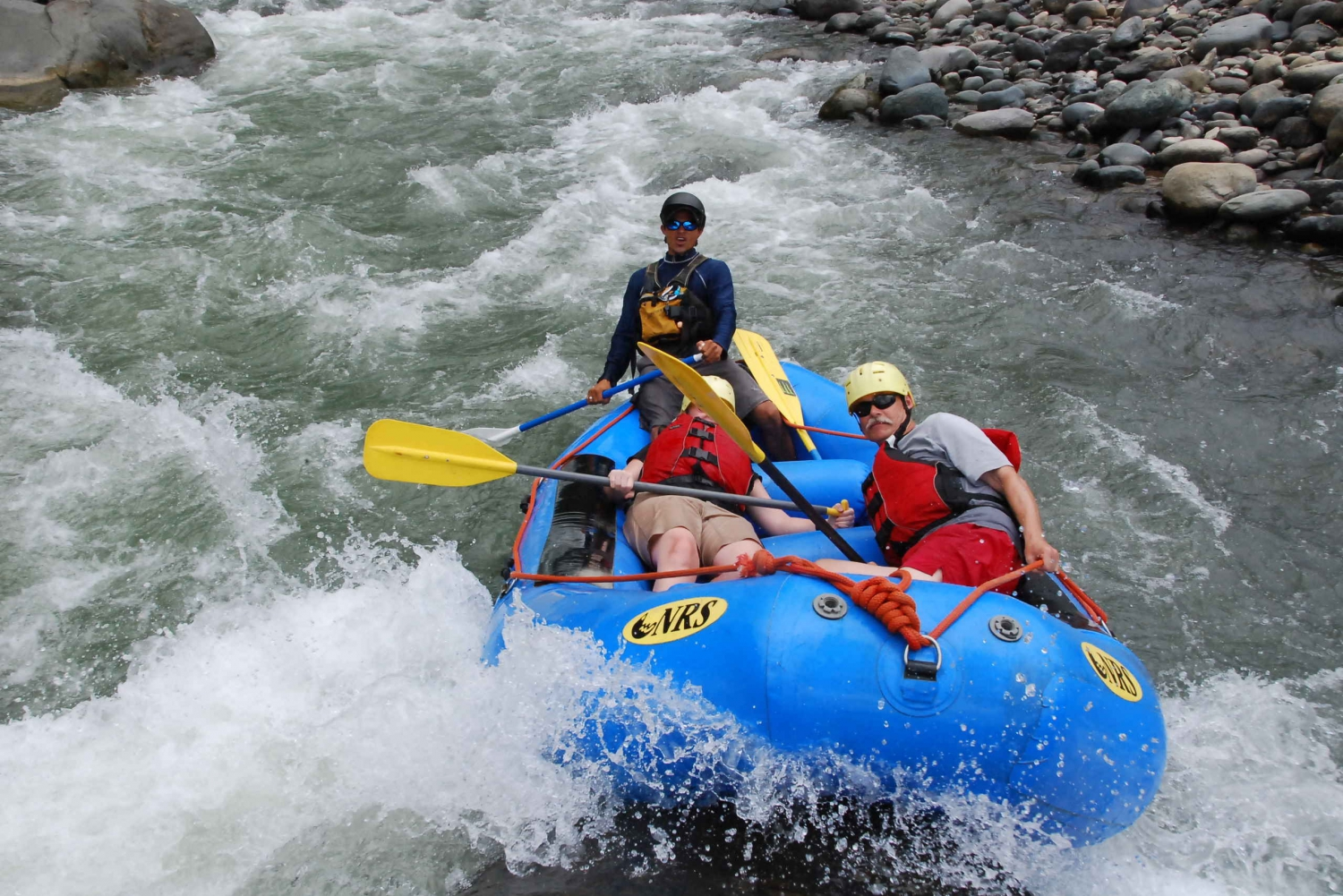 From Quepos: White Water Rafting Savegre River