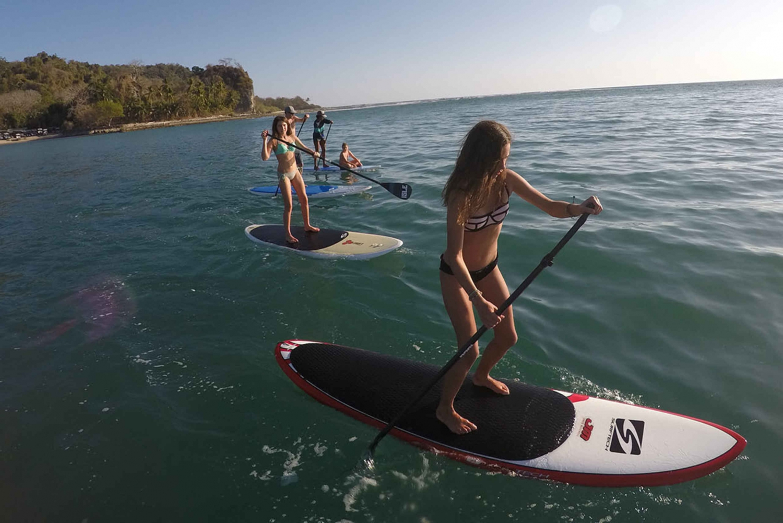Garza beach stand up paddleboard (SUP) open ocean at Nosara