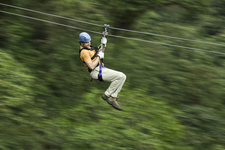 Guanacaste: 5-Hour Rainforest Canopy Zipline Tour
