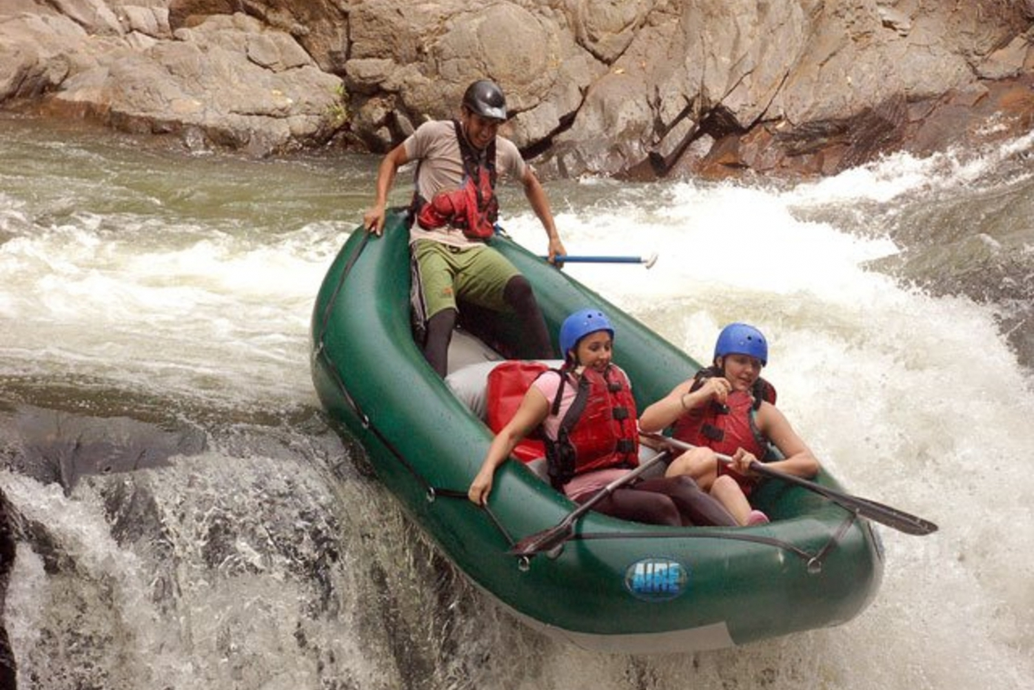 Guanacaste White Water Rafting and Transfer from Arenal
