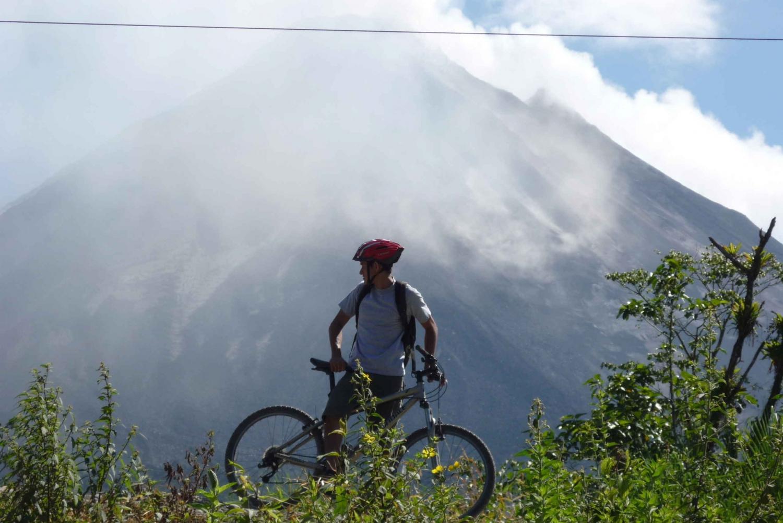 Half-Day Arenal Lake Biking Tour from Alajuela