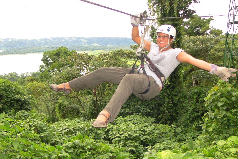 La Fortuna: Arenal Volcano Canopy Zipline Tour