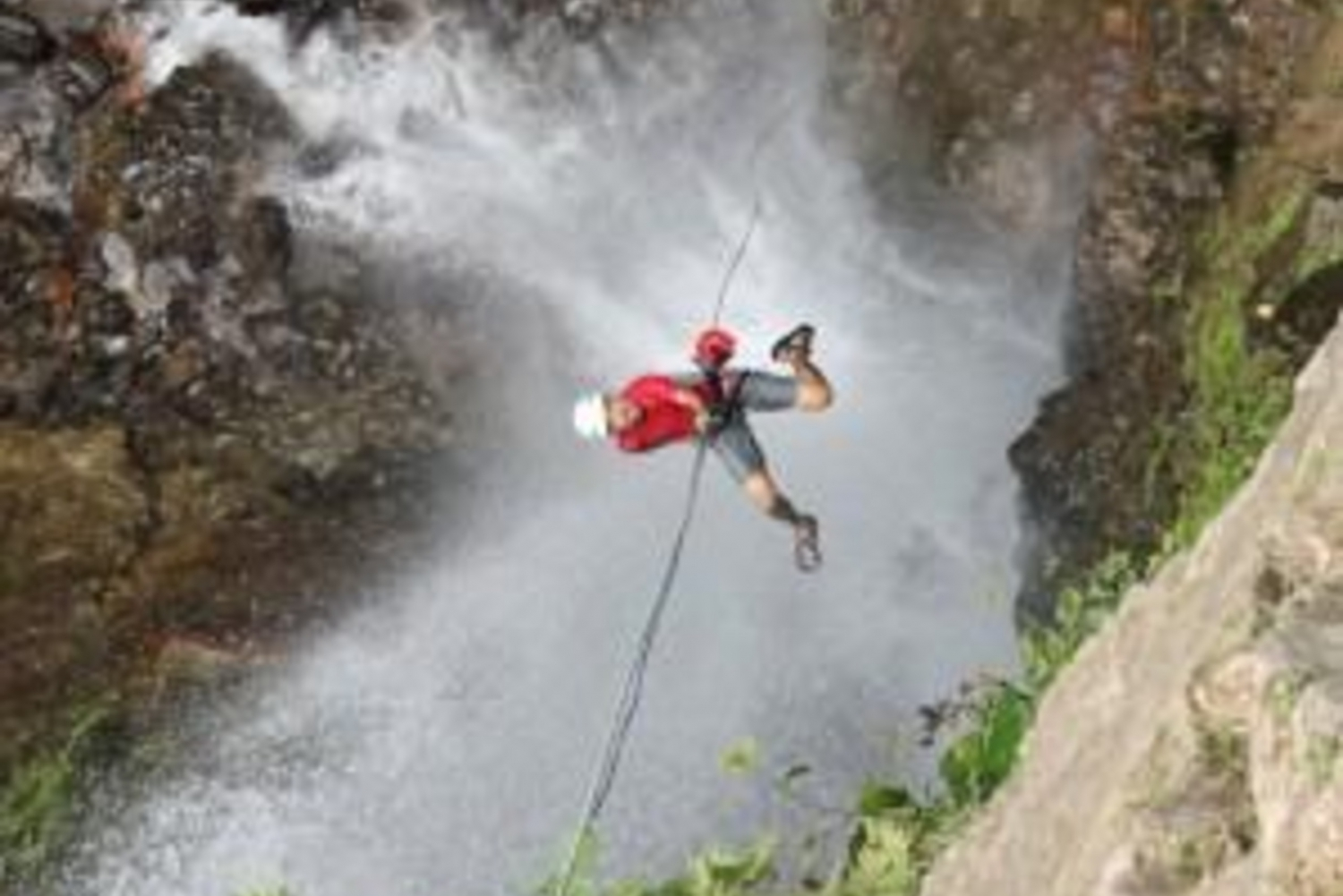 Pure Trek Canyoning Waterfall Rappel in Costa Rica