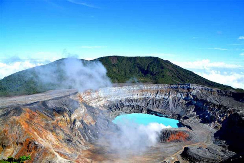 San José: Poas Volcano, La Paz Waterfalls & Coffee Farm Tour