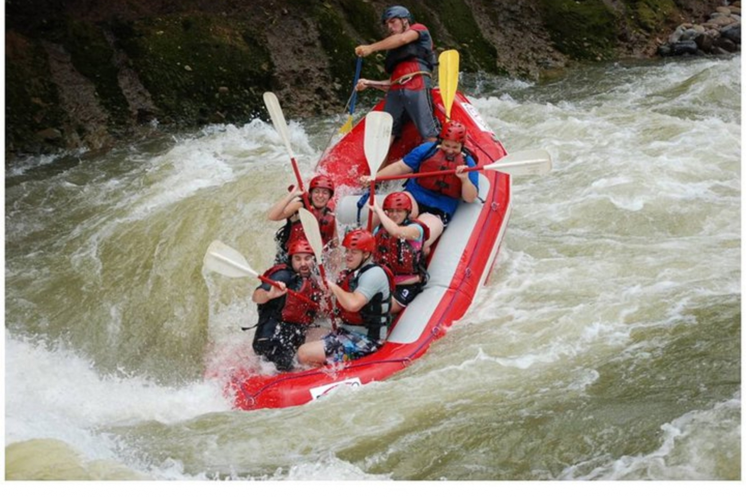 San Jose to La Fortuna: Rafting on the Sarapiquí River