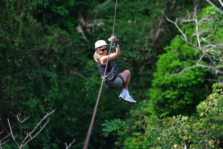 San Jose: Zip Line Canopy Half-Day Adventure Tour