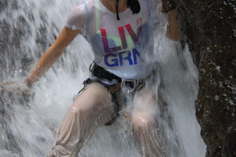 The Mambo Combo! Rappel + Raft in Costa Rica